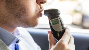 Sober Driver Taking Breathalyzer Kills Woman