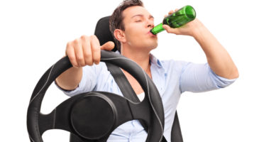 Man Chugs Beer During DUI Traffic Stop